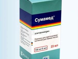 Сумамед – лекарственное взаимодействие