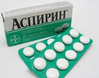 Аспирин – способ применения и дозы
