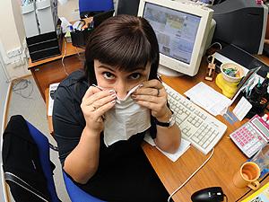 Лихорадку Западного Нила сменила эпидемия простудных заболеваний