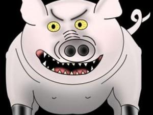 Англичан атаковал свиной грипп