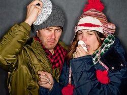 В РФ начался подъем простудных заболеваний
