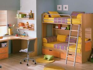 Безопасный для здоровья интерьер детской комнаты