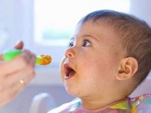 Аллергия на продукты у грудных детей