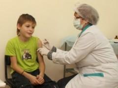 В Мурманске более 15 тысяч детей привиты от гриппа