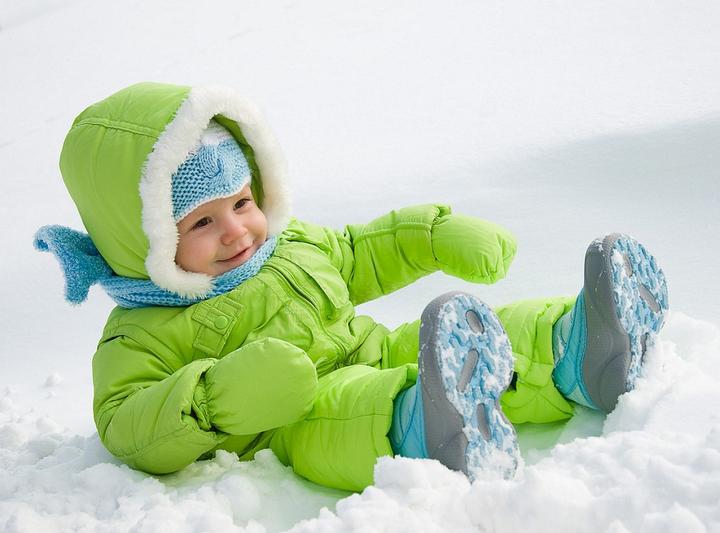 Прогулки с ребенком зимой AntiFlu - против гриппа