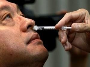 Новый назальный спрей спасет от всех видов гриппа