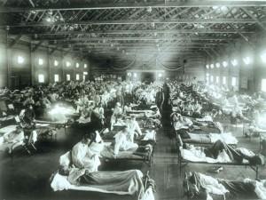Катастрофическая инфлюэнца 1918 года была обусловлена стечением обстоятельств, сам вирус гриппа ничем особо зловещим не отличался