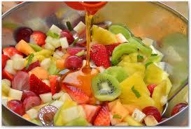 Фруктовый салат «Снежок» — вкусно и полезно