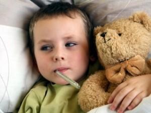 В области зафиксирована эпидемия ОРВИ среди детей