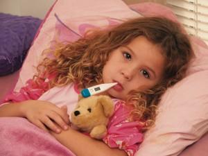 Лечим детей от простуды