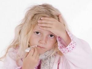 Детская простуда повышает риск инсульта