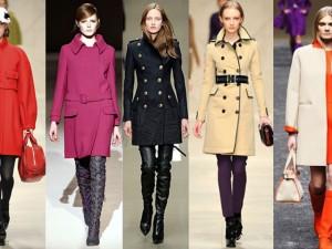Модные модели осенне-зимних пальто 2014-2015г