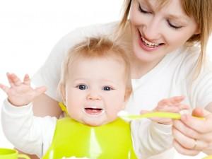 Педиатрический прикорм (питание ребёнка шести месяцев)