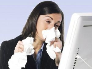Офисная эпидемия или как защититься от коллег