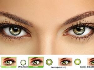 Особенности цветных контактных линз