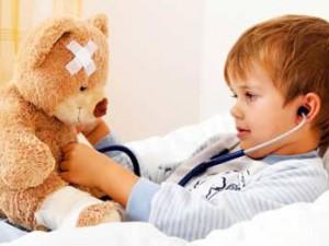 Если малыша мучает кашель в ночное время