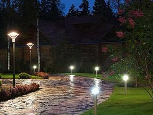 Садово-парковое осветительное оборудование