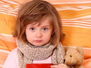 Опасная простуда у детей: что делать
