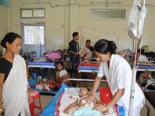 Вспышка энцефалита стремительно убивает жителей Индии
