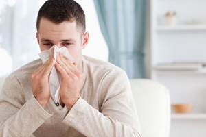 Мужчины болеют гриппом чаще, чем женщины
