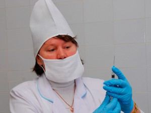 В Ижевске началась вакцинация детей от гриппа
