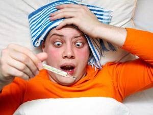 Взрослые люди болеют гриппом гораздо реже, чем думают