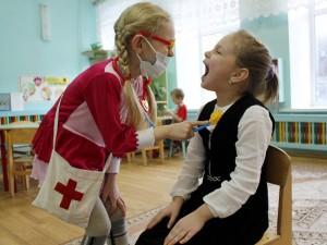 В Саратовской области заболеваемость гриппом превышена среди грудничков и школьников