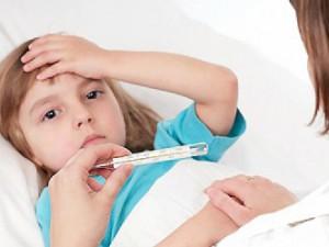 В Саратовской области ОРВИ болеют 7490 детей