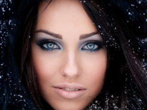 Зимний тип внешности в глазах визажиста или косметолога