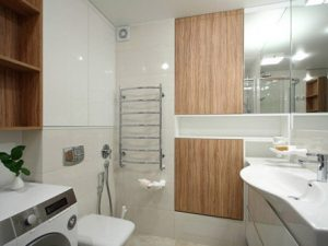 Интересные решения для современных ванных комнат