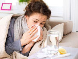 В Петербург пришел грипп
