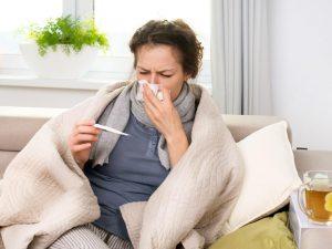 Женщины и простуда
