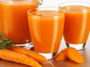 Сок моркови — здоровье в стакане