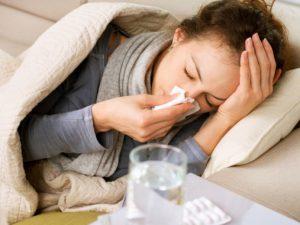 В Киеве уже регистрируют случаи заболевания гриппом