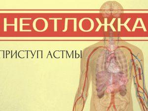Приступ астмы. Что делать в домашних условиях?