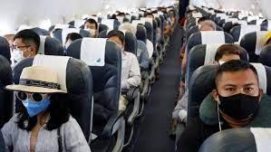Риск передачи COVID-19 в салоне самолета »очень низкий»